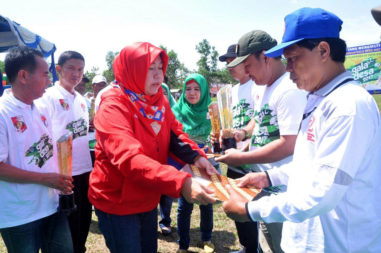 LAMPUNG POST | Lampung Utara Gelar Turnamen Gala Desa
