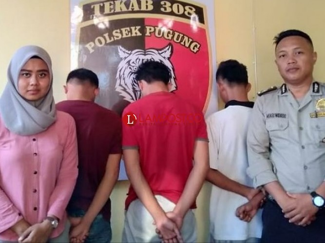 3 Pelajar Pelaku Jambret Diciduk Polisi
