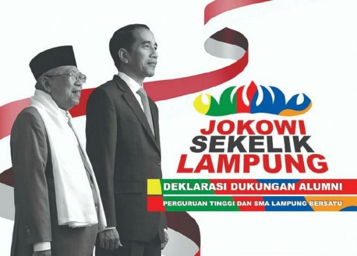 30.000 Alumni Perguruan Tinggidan SMA Lampung Siap Deklarasi Dukung Jokowi