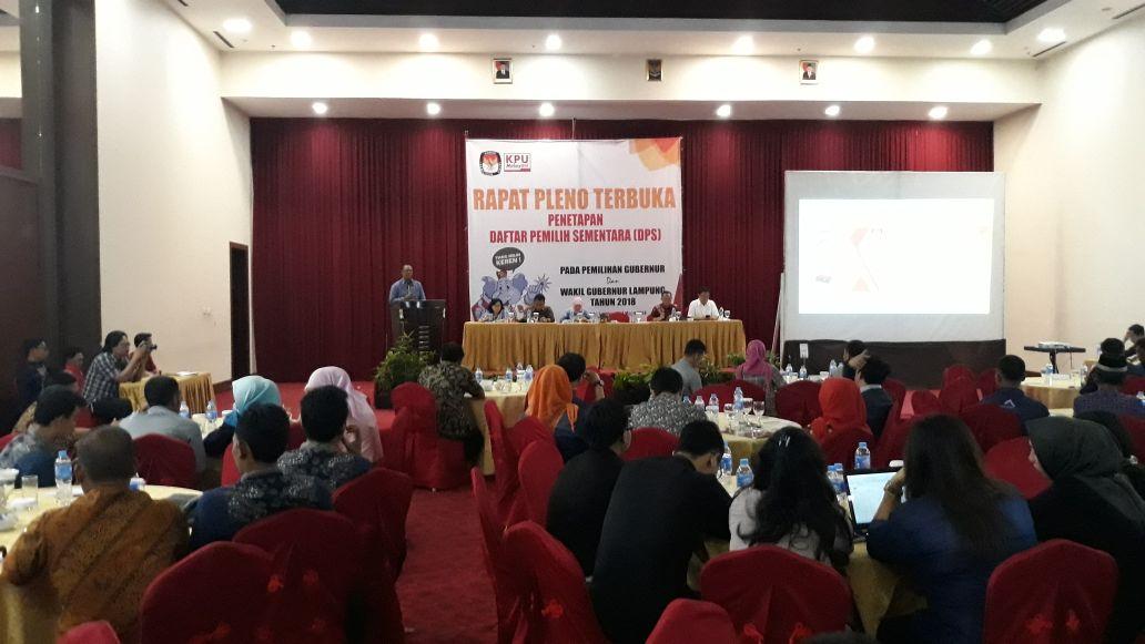 LAMPUNG POST | Daftar Pemilih Pilgub Lampung Fluktuatif