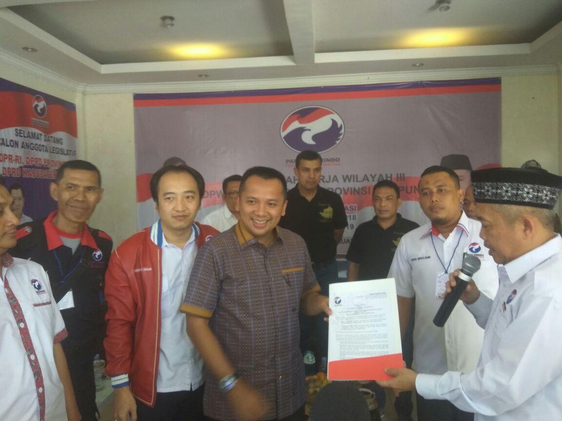 LAMPUNG POST | Ridho Ficardo Hadiri Muskerwil Perindo Lampung