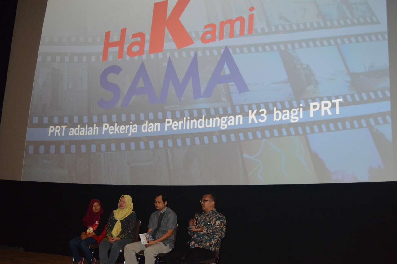 ILO dan Damar Gelar Nonton Bareng dan Diskusi Film PRT