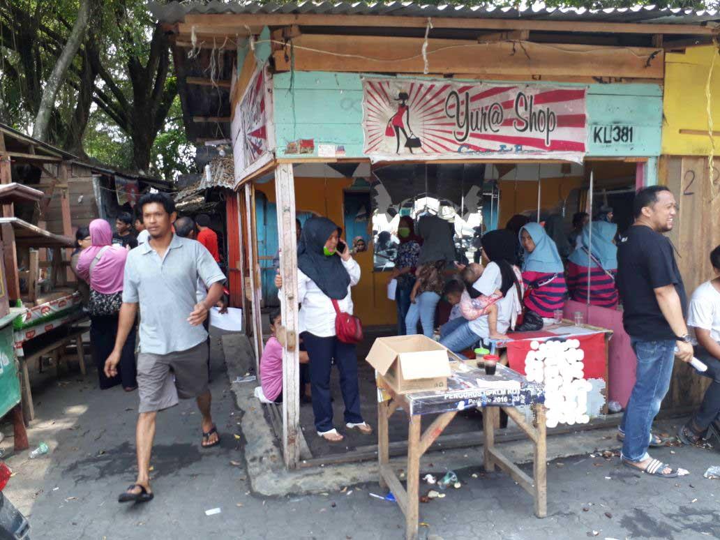 Himpunan Pedagang Kaki Lima Metro Data Pedagang yang Terkena Musibah Kebakaran