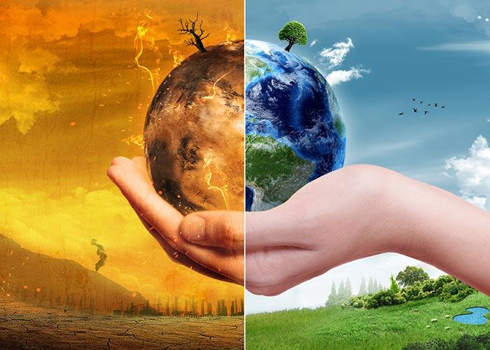 LAMPUNG POST | Tren Kalahkan Pemanasan Global
