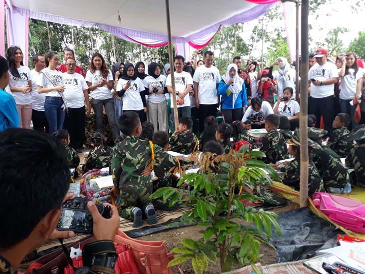 LAMPUNG POST   Puteri Pariwisata Indonesia Kunjungi Tulangbawang