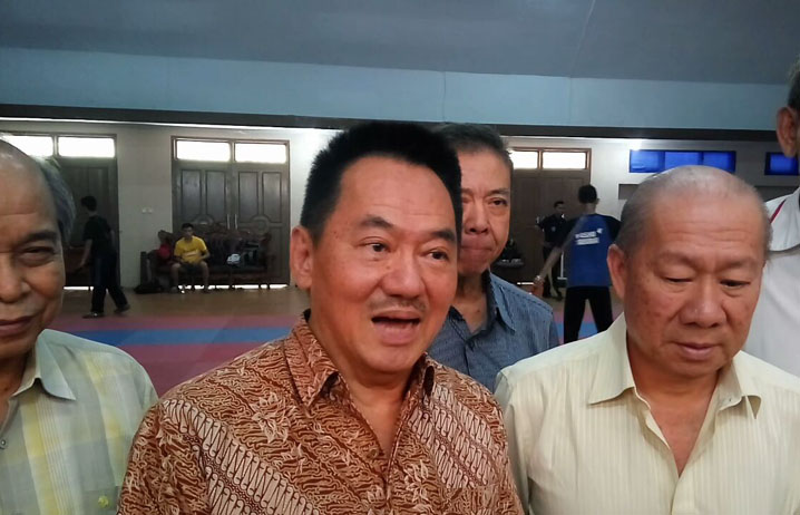 Pengprov-KONI Tinjau Training Center Atlet Wushu Lampung