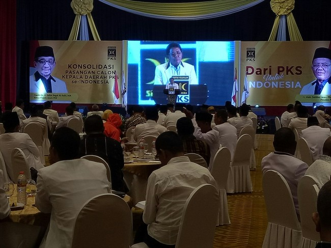 PKS Kumpulkan Calon Kepala Daerah yang Bertarung di Pilkada Serentak