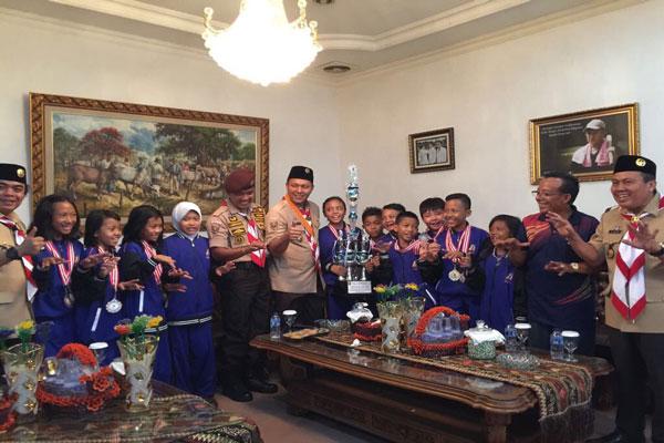 Pelajar Lampung Tengah Sabet Dua Perunggu di O2SN Nasional