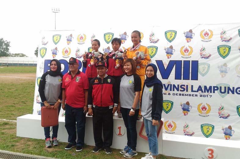 LAMPUNG POST | Pringsewu Sabet 11 Medali di Cabor Atletik