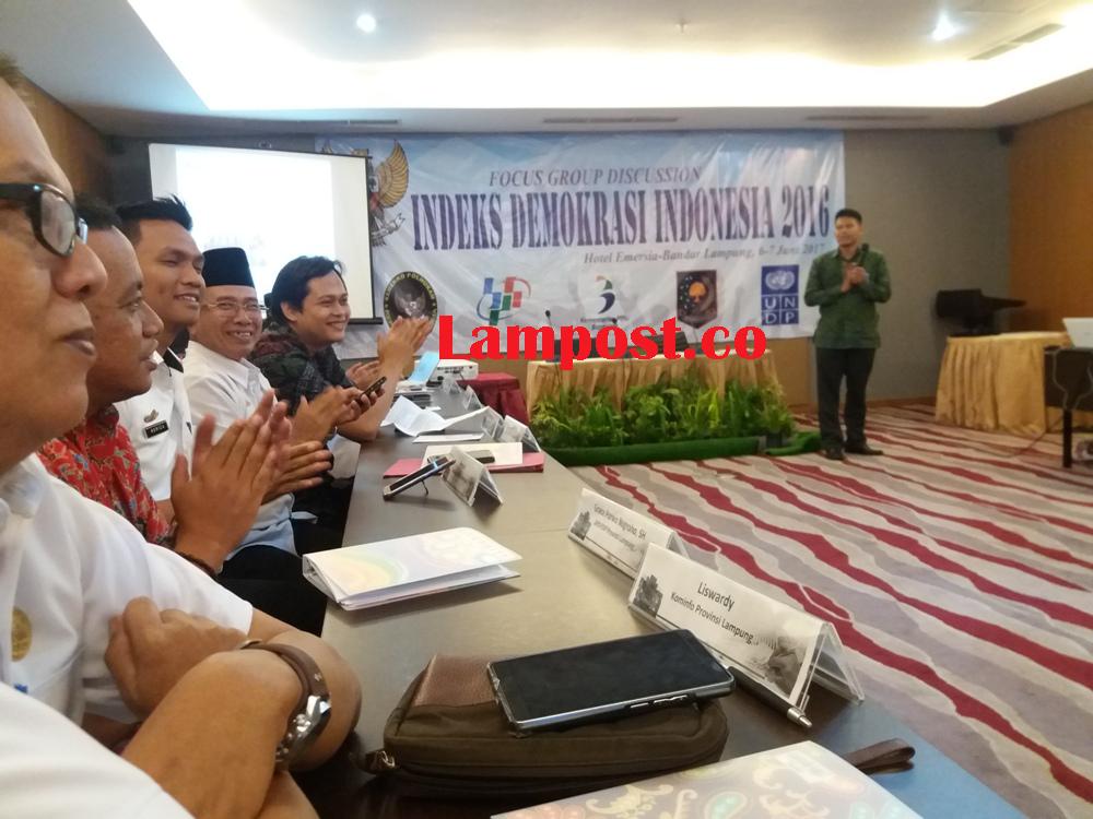 LAMPUNG POST | BPS: Indeks Demokrasi Lampung Urutan 26