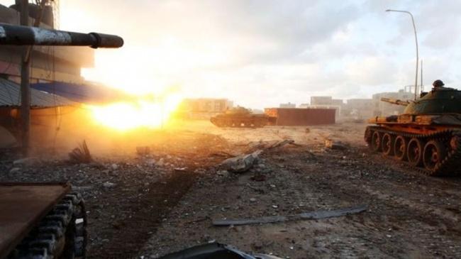 LAMPUNG POST | 141 Prajurit Tewas dalam Serangan di Pangkalan Udara Libya