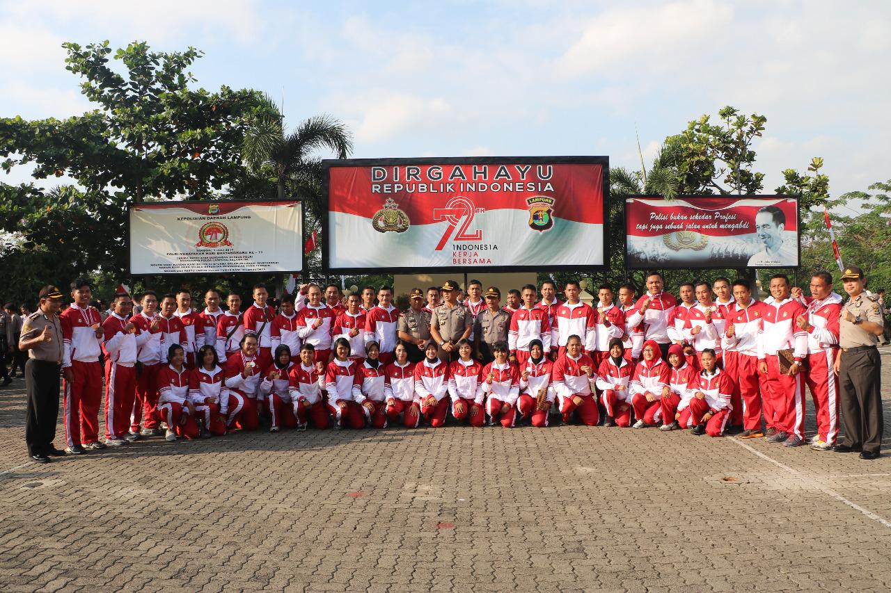 LAMPUNG POST | Polda Lampung Peringkat Keempat Kejuaraan Judo dan Beladiri Polri