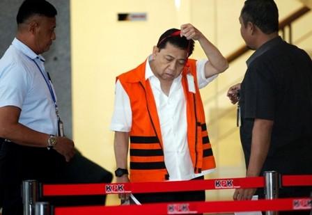 Setya Novanto Kembalikan Rp5 Miliar kepada KPK