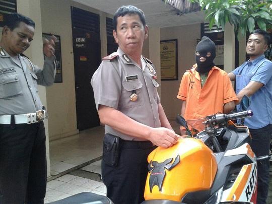 Polisi Ringkus Pencuri Motor yang Beraksi di Kota Sepang