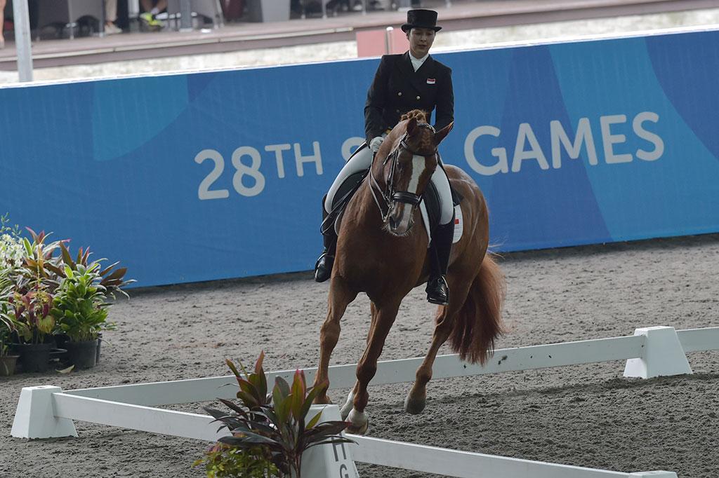 LAMPUNG POST | Berkuda Bertekad Pertahankan Tradisi Emas SEA Games
