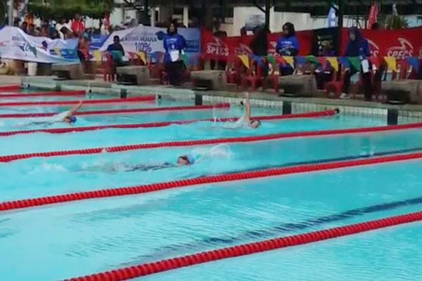 Atlet Renang Lampung Berlatih di Luar Daerah