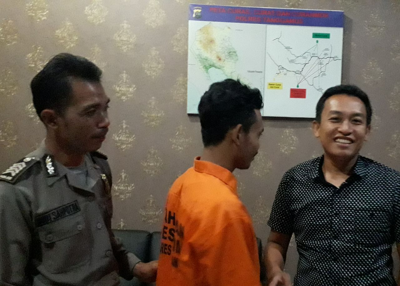 Satu Pelaku Komplotan Spesialis Bobol Konter Diciduk Polres Tanggamus