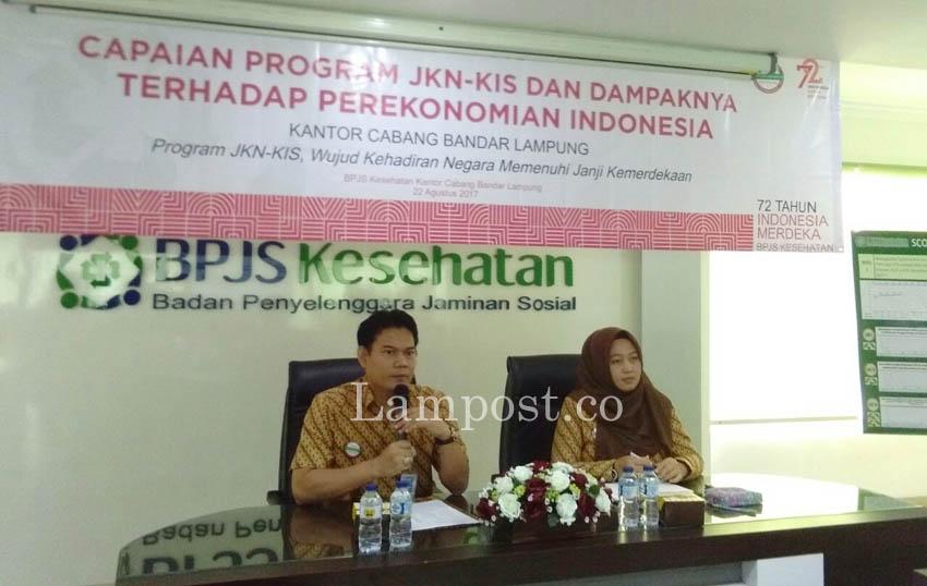 Peserta BPJS Kesehatan Cabang Bandar Lampung Capai 2,3 Juta Jiwa