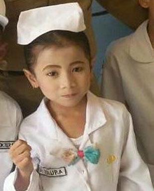 LAMPUNG POST | Maura, Si Lincah Ingin Menjadi Dokter