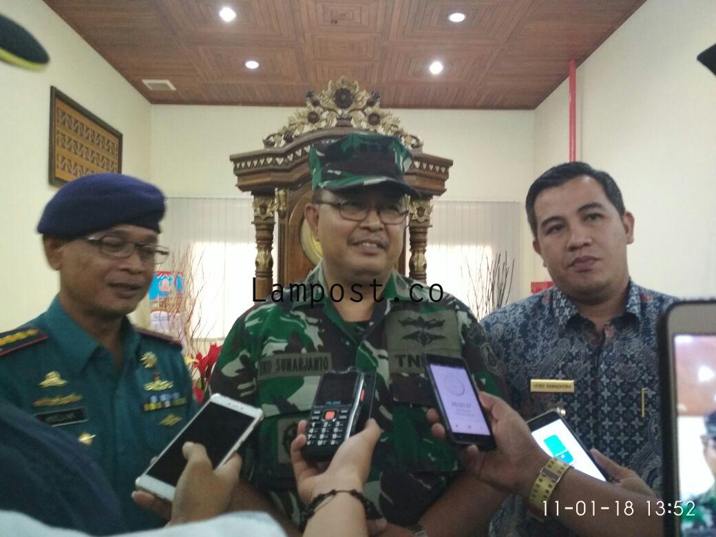Mabes TNI AL Koordinasi Rencana Pembangunan Pangkalan TNI AL di Pesawaran