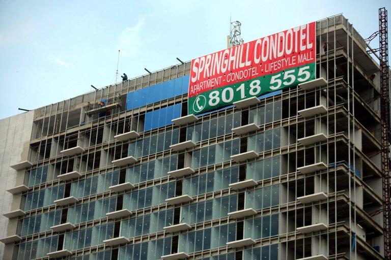 Springhill Condotel Beri DP 20% dan Diskon Tanda Jadi 50%