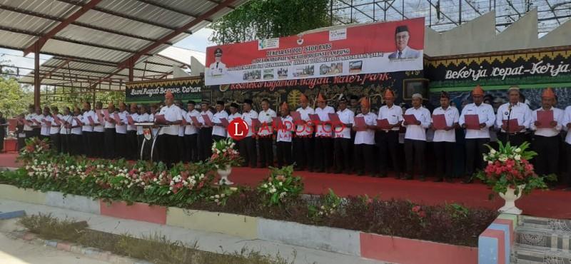 39 Desa di Mesuji Deklarasi ODF