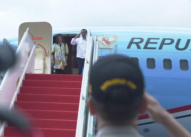 LAMPUNG POST | H2 Lebaran Presiden Mudik ke Solo