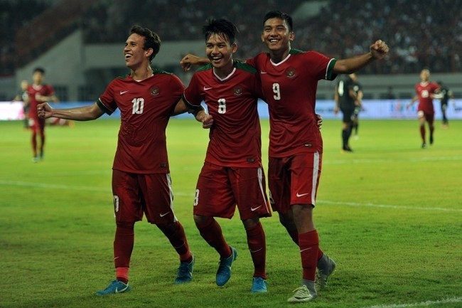 LAMPUNG POST | Egy Hattrick, Indonesia Bantai Timor Leste