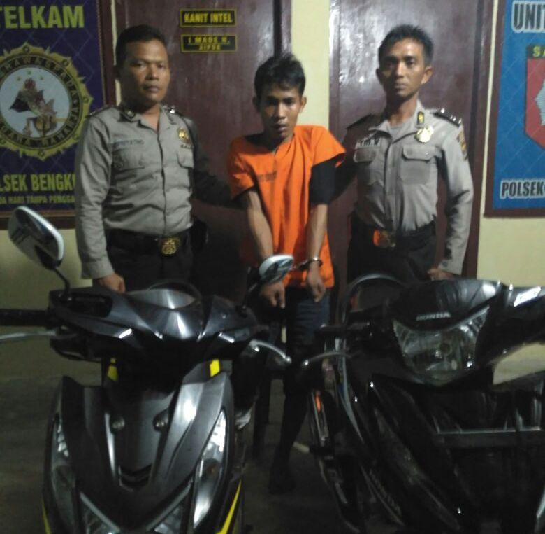 LAMPUNG POST | Dua Pemuda Curi Motor, Satu Ditembak Satu Lagi DPO