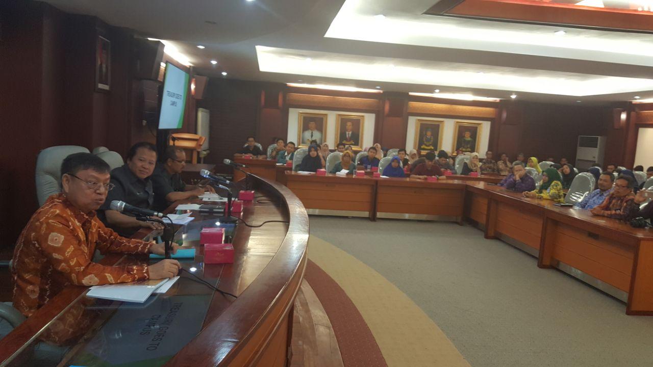 LAMPUNG POST | Kanwil DJPb Lampung Edukasi Mahasiswa Unila