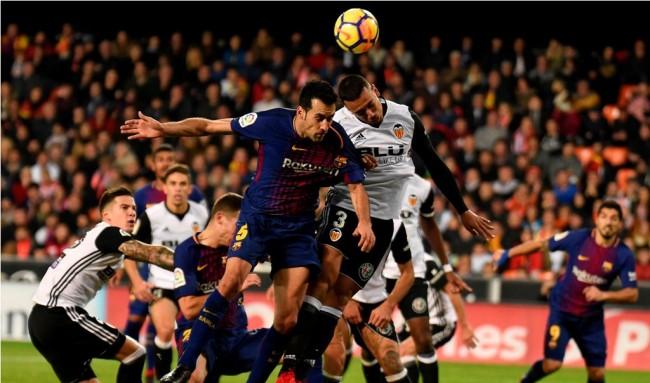 Barcelona Tertahan di Kandang Valencia