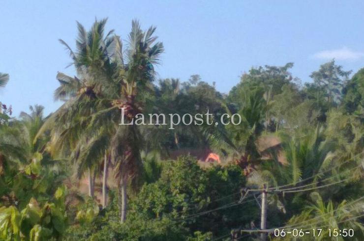LAMPUNG POST | Dendi Minta Pengerukan Bukit di Desa Gebang Ditutup