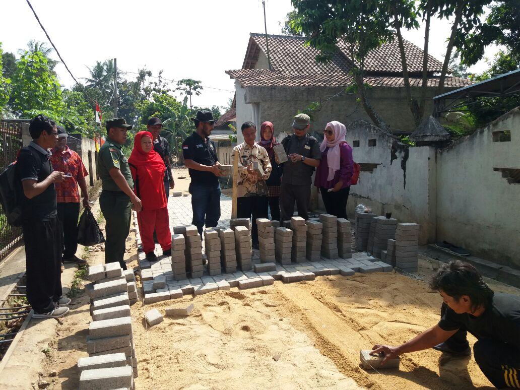LAMPUNG POST | Berkat Dana Desa, Pembangunan Desa Karangsari Pesat