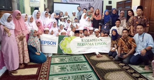LAMPUNG POST | Epson Indonesia Kunjungi Panti Asuhan di Jakarta