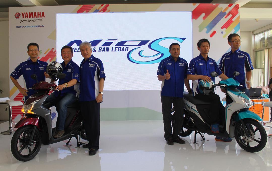LAMPUNG POST | Yamaha Luncurkan Mio S dengan Ban Tubeless dan Lebar