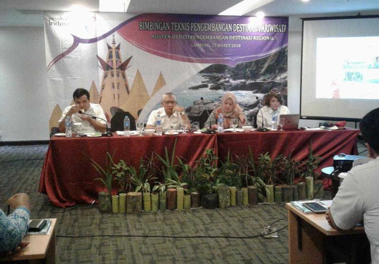Kemenpar Nilai Pariwisata Lampung Masih Lemah