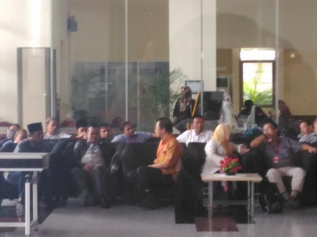 LAMPUNG POST | KPK 'Garap' Marzuki Alie untuk Tersangka Novanto