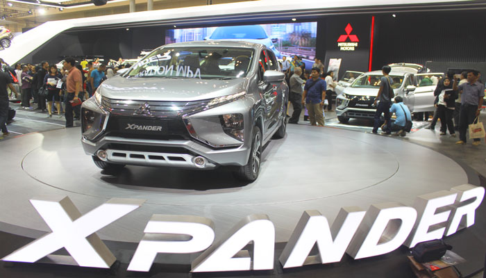 LAMPUNG POST | Tujuh Hari GIIAS, Mitsubishi Raih 3.608 SPK, Xpander Terbanyak