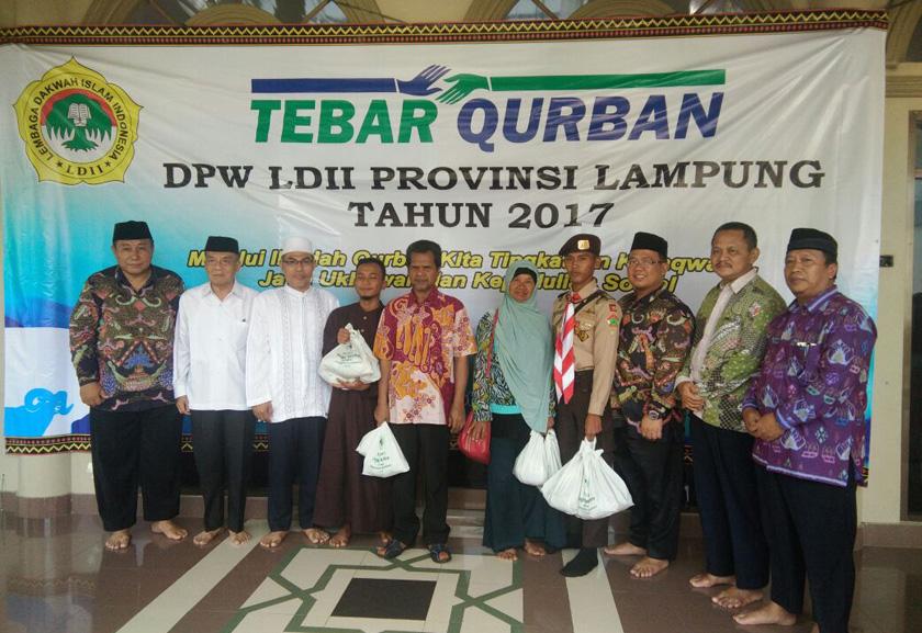LAMPUNG POST | LDII Lampung Sebar 80.696 Paket Hewan Kurban ke 14 Kabupaten