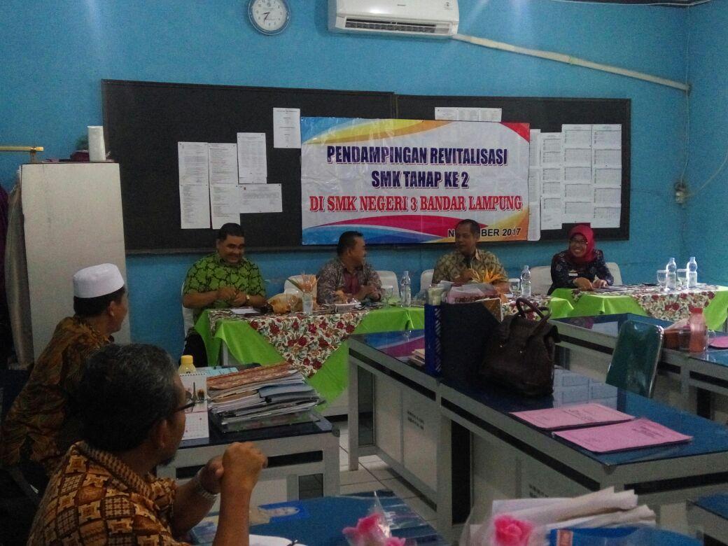LAMPUNG POST | SMKN 3 Bandar Lampung Diminta Usulkan Program Revitalisasi ke Kemendikbud