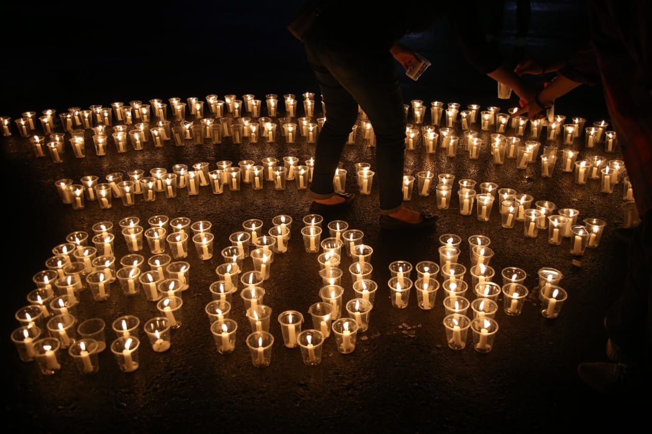 LAMPUNG POST | Peringati Hari Bumi dengan Pemadaman Listrik Sejam