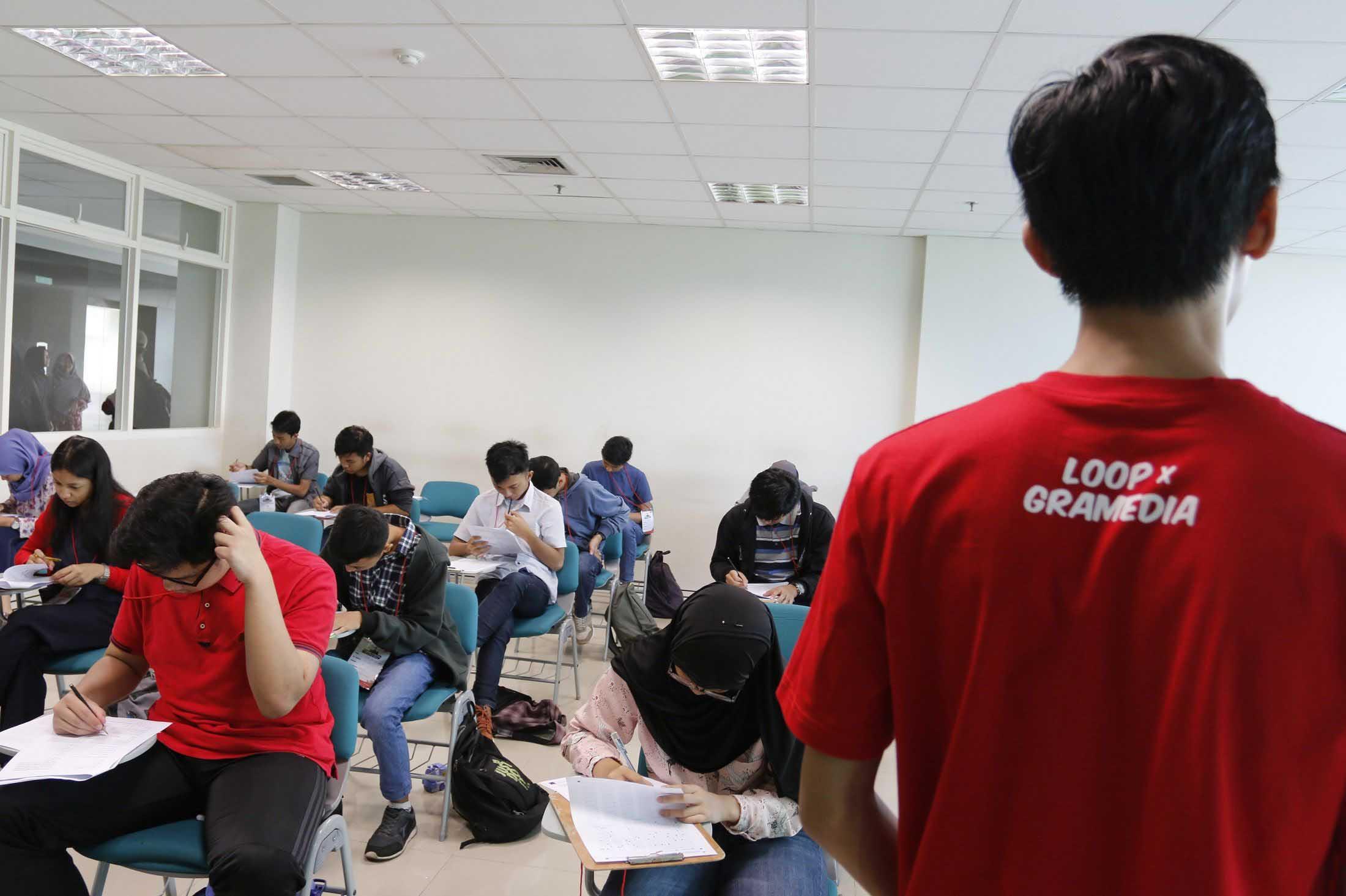 LOOP dan Gramedia Wujudkan Simulasi SBMPTN Serentak
