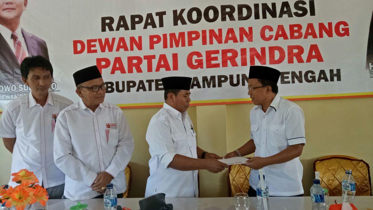 LAMPUNG POST | Heri Sugianto Pimpin DPC Gerindra Lamteng