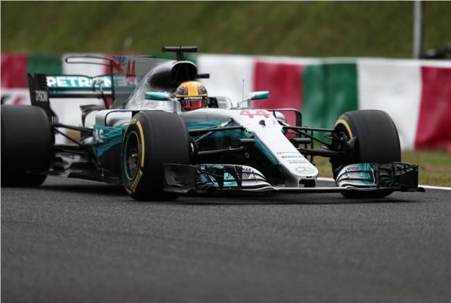 LAMPUNG POST |  Lewis Hamilton Start Terdepan di GP F1 Jepang