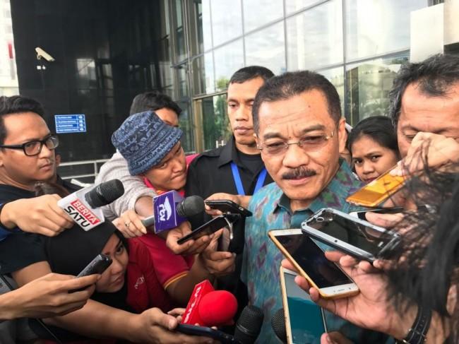 LAMPUNG POST | Gamawan Fauzi Benarkan Diperiksa KPK untuk Novanto