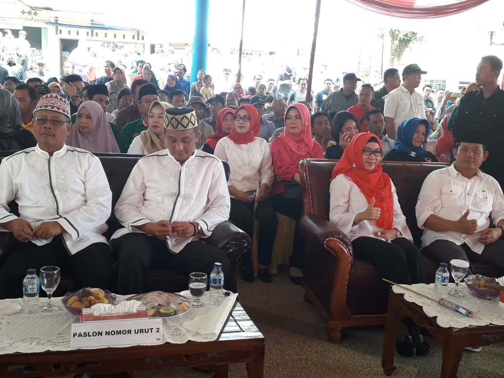 KPU Deklarasi Kampanye Damai Paslon Tanggamus