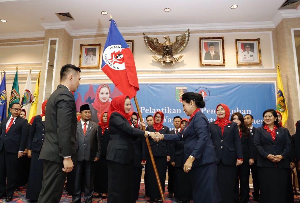 Yustin Ficardo Pimpin Yayasan Jantung Indonesia Lampung