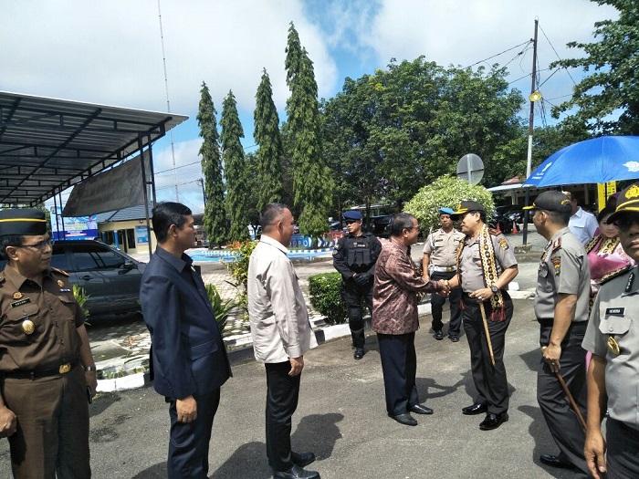 Kapolda Lampung Kunjungi Polres Tulangbawang