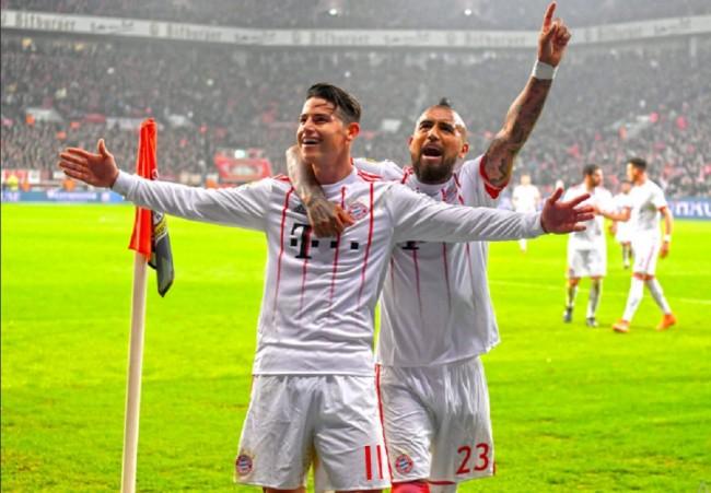 Bayern Muenchen Jungkalkan Leverkusen 3-1