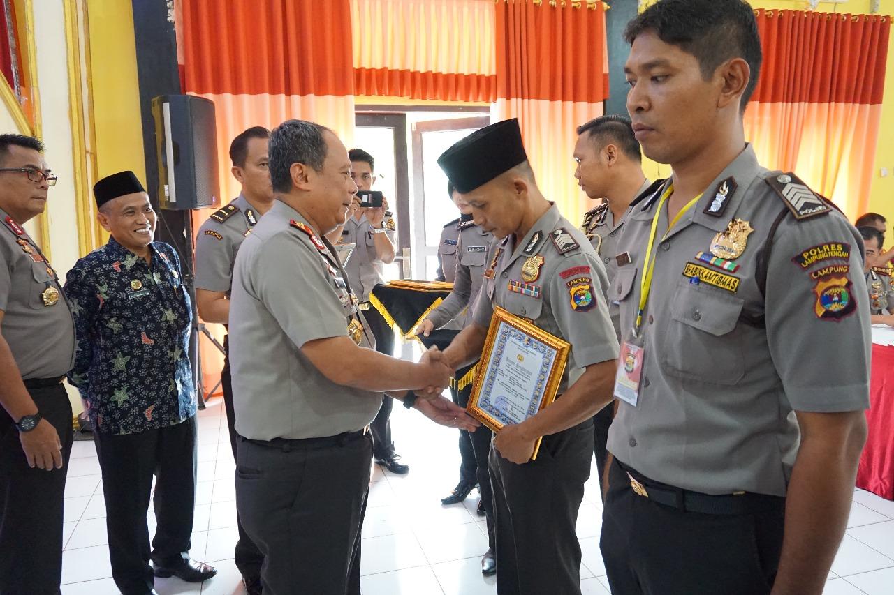 Kapolda Lampung Apresiasi Juara Lomba Khotbah Agama